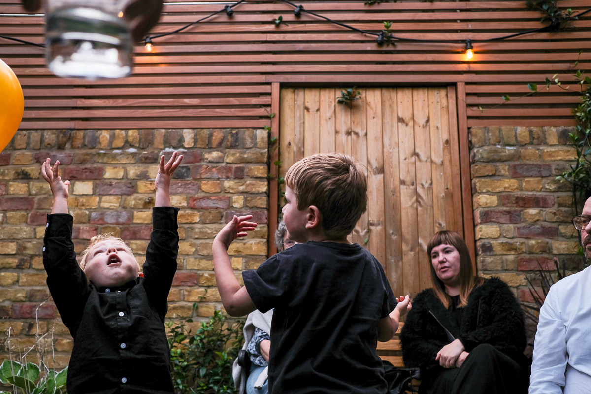 Birthday photography in London for the fantastic Rachel - a garden party in the heart of North London.