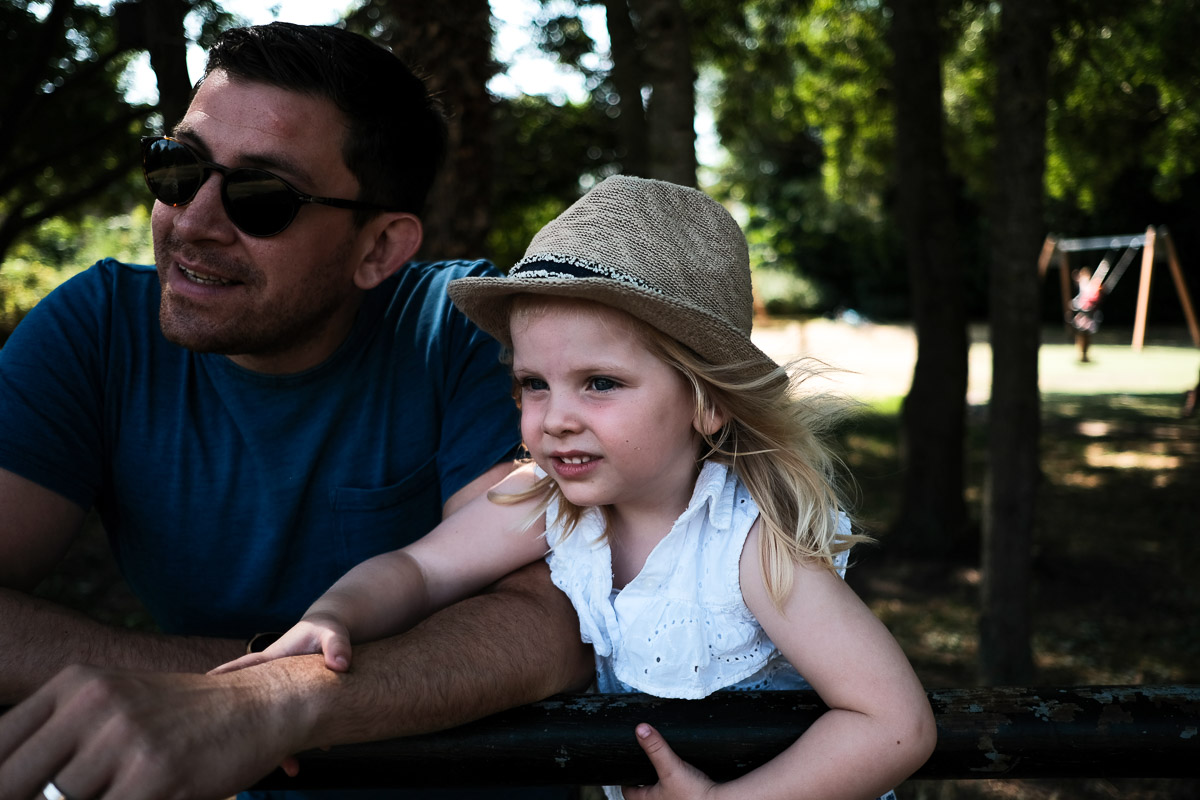 Documentary photography with Elodie, the park and an amazing Portrait of Play session.