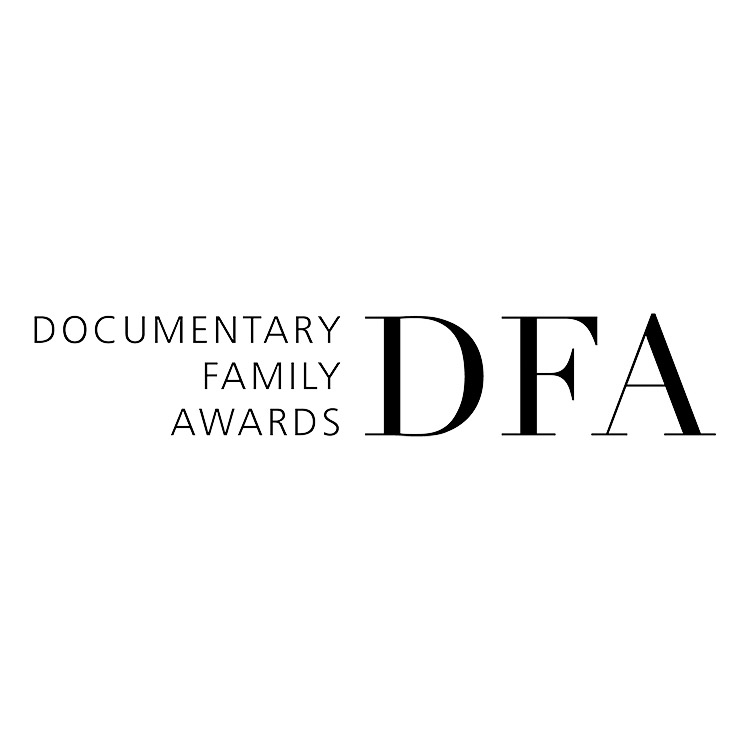 Documentary family awards logo which Ben made the finals for 2019 Spring cycle.